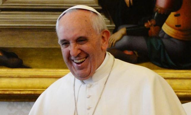 """האפיפיור עם רה""""מ נתניהו"""