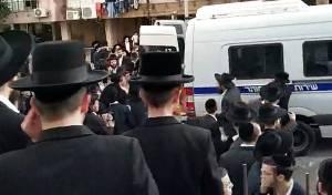 המשטרה עצרה את מפגיני 'הפלג' שנמלטו