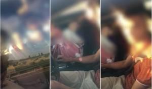 על הנוסעת במושב הקדמי: שתי ילדות • צפו