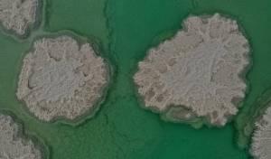 פשוט וואו: מבט על ים המלח מגובה הרחפן