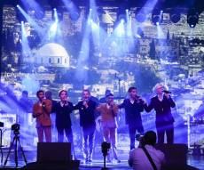 להקת 'הקינדרלעך' בביצוע לייב מלהיב