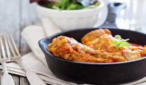 עוף ותפוחי אדמה בתנור עם רוטב פירי פירי