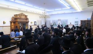 חסידי ברסלב ערכו עצרת תפילה בעיר ביתר
