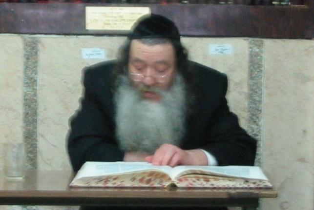 """המנוח ז""""ל, הוגה בתורה ב'קלויז' הרבסלבאי"""
