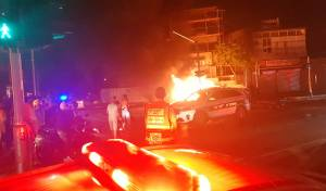 שני גברים נהרגו בפיצוץ ברכב בתל אביב