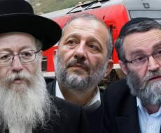 """רכבת ישראל לצד הח""""כים החרדים - סוכם עם החרדים: יבוטלו העבודות לשבת זו"""