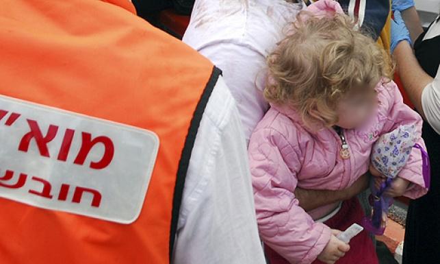 אסון בהתנחלות: פעוטה מתה ברכב