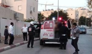 """זירת התאונה - מודיעין עילית: בן 7 פונה לבי""""ח במצב אנוש"""