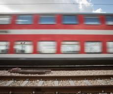 רכבת. אילוסטרציה - גבר נדרס למוות מפגיעת רכבת בחוף הכרמל