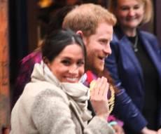 """הנסיך הארי וארוסתו - ברכה את הנסיך ב""""מזל טוב"""", וזכתה לתגובה"""