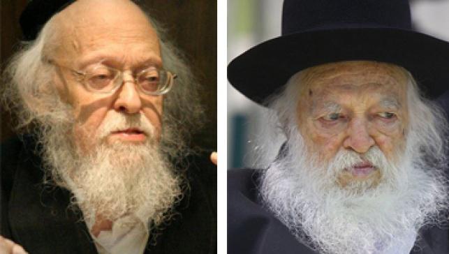 ביקור חג: הרב קנייבסקי אצל הרב אלישיב