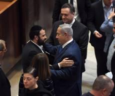 צפו: ראש הממשלה נפרד מהשר דוד אזולאי