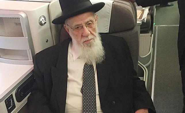 """הגר""""ש כהן במטוס - נשיא המועצת ימריא למסע חיזוק  במקסיקו"""