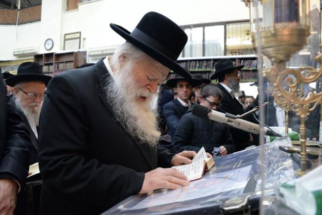 """מראות חייו •  רבי שמואל יעקב בורנשטיין זצ""""ל"""