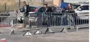 ירושלים: מחבל דרס שוטרים, שישה נפגעו