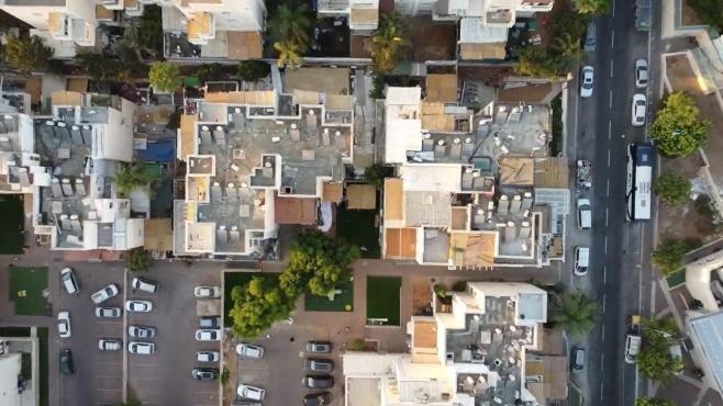 הסוכות של העיר אלעד - בתיעוד מהרחפן