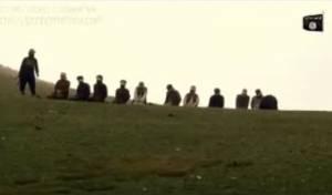 אכזרי: דאעש מפוצץ שבויים במטעני חבלה