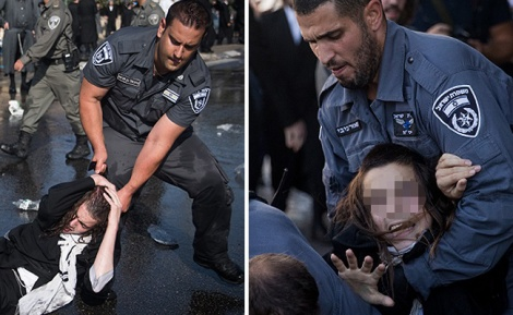 אילוסטרציה - 12 שוטרים חשודים באלימות נגד חרדים