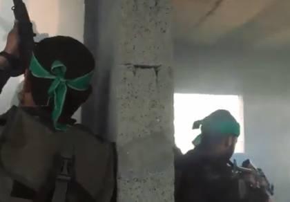 'יחידות העילית' של החמאס תועדו באימונים
