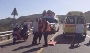 תאונה בצפון: פצוע קשה, שניים בינוני