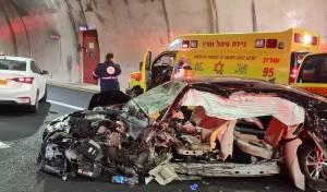 איש החסד נהרג בתאונה; בתו במצב קשה