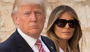 מלניה ודונלד טראמפ - מלניה טראמפ עברה  לגור בבית הלבן