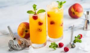 תה אפרסק קר - קוקטייל ללא אלכוהול