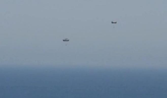 הצנחנים ופעילות חיל הים בחופי תל אביב • צפו