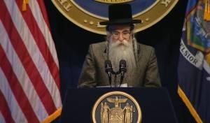 הרבי נאם מול המושל: לא אשכח את האימה