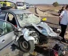 חילוץ הלכודים בתאונה הקשה - תלמידי הישיבה נהרגו בדרך לשמחת התורה