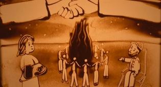 """מדורת שלום: סיפור לילדים ליום ל""""ג בעומר"""