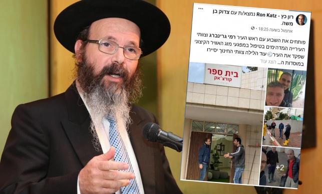 הרב מיכה הלוי והפוסט של רון כץ