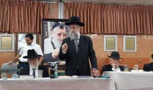 """הגר""""ד יוסף השתתף בעצרת ב'כסא רחמים'"""
