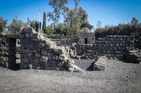בית כנסת באתר הארכיאולוגי בקצרין. אילוסטרציה - בגלל מצוקת הדיור: בית כנסת יפונה לטובת נזקקים