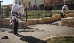 מניין בשטח פתוח, בירושלים
