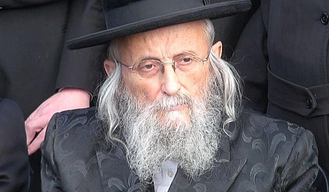 """הגאב""""ד הרב יצחק טוביה ווייס"""