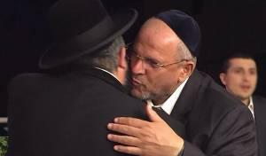 דודי אפל והגאון רבי יהודה דרעי, הערב - תמונות ראשונות: דודי אפל משוחרר