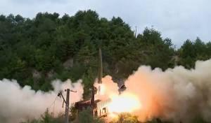 ניסוי בצפון קוריאה: שיגור טיל מרכבת • צפו