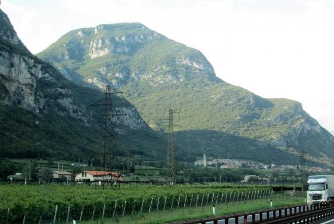 טיול בעדשת המצלמה בכביש ורונה-בולזנו