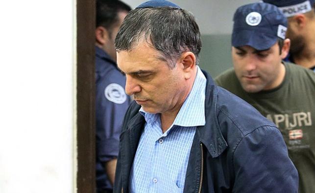 פילבר לאחר מעצרו