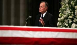 הנשיא לשעבר ג'ורג' בוש האב הלך לעולמו
