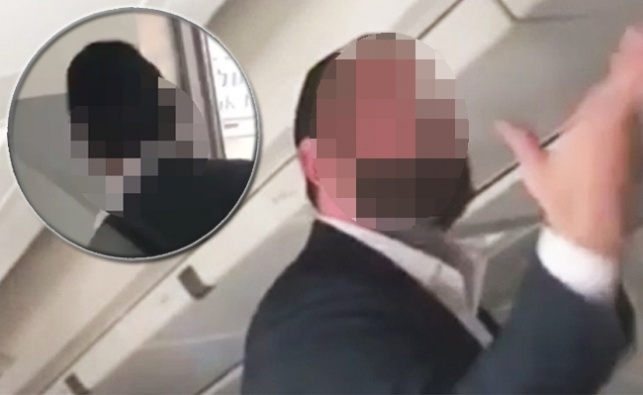 תיעוד מתוך המטוס
