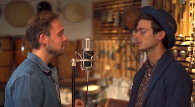 האחים פורטנוי מפתיעים בקאבר בעברית