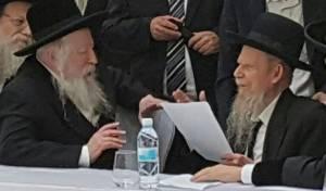 """הגרי""""ג אדלשטיין והאדמו""""ר מגור - חילוקי הדעות במאבק 'פניציה'. כל הפרטים"""