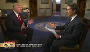 טראמפ בראיון - טראמפ חושף את הרגע המפחיד בנשיאות
