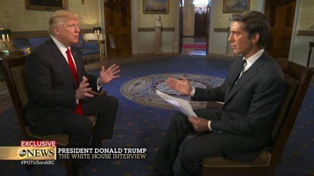 טראמפ בראיון