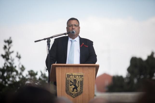 ראש העיר משה ליאון