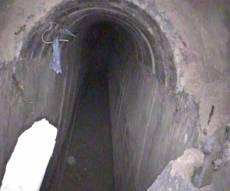 המנהרה שאותרה - נחשפה מנהרת טרור בשטח ישראל • צפו