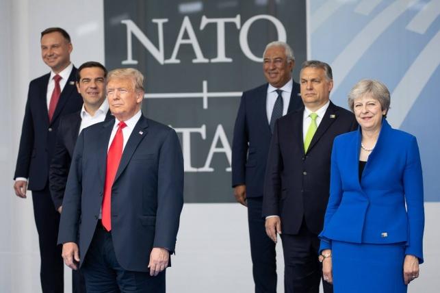 טראמפ בוועידת נאטו