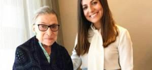 """השופטת רות ביידר גינסבורג ועו""""ד רבקה שוורץ"""